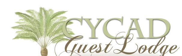 Cycad Guest Lodge accommodation - Guest House accommodation Sedgefield, Knysna self catering apartment accommodation